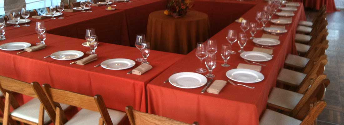 Contact Columbia Tent Rentals for all your wedding and special event needs