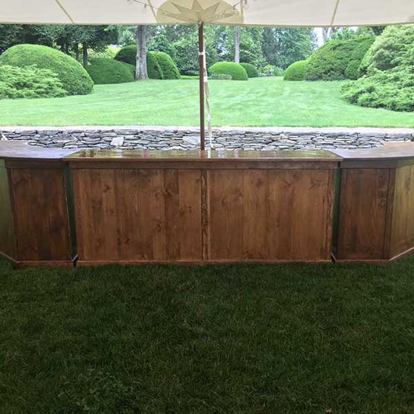 Rent our Bar your wedding or special event. Table & Chair rentals from Columbia Tent Rentals