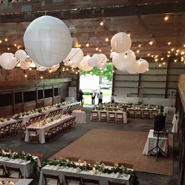 Square shaped Dance Floor Rental from Columbia Tent Rentals