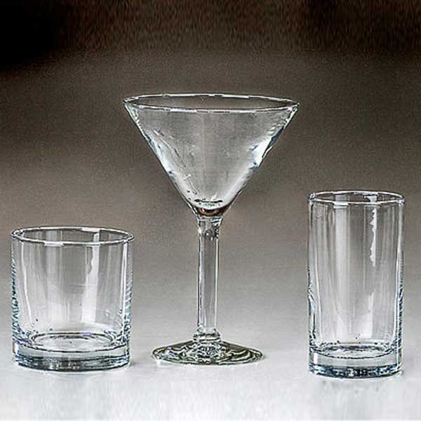 Columbia Tent Rentals provides complete dinnerware rental such as bar glasses