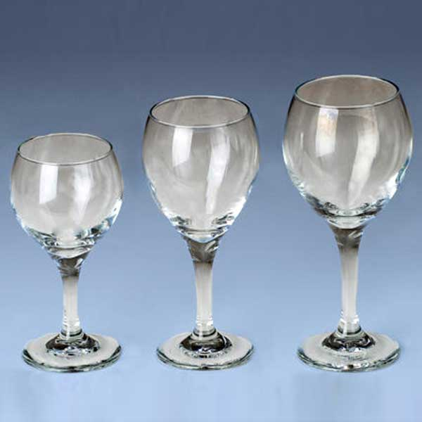 Columbia Tent Rentals provides complete dinnerware rental such as goblets
