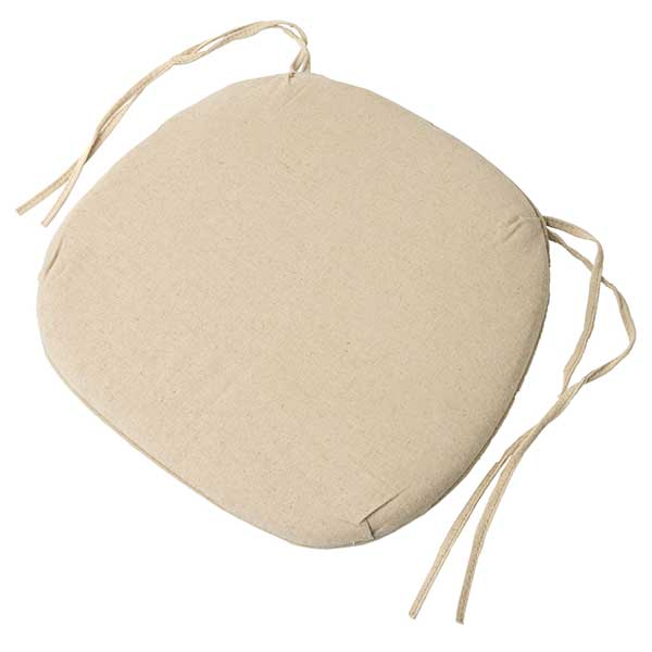 Tables & Chairs rental: Crossback Chair Cushion White or Ivory from Columbia Tent Rentals