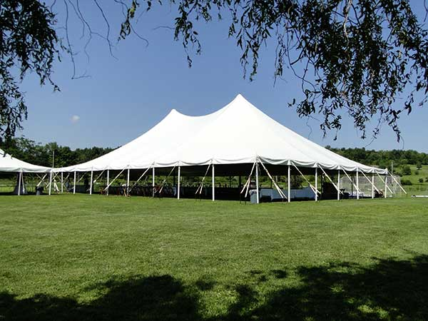 Pole Tents are available from Columbia Tent Rental for your company part
