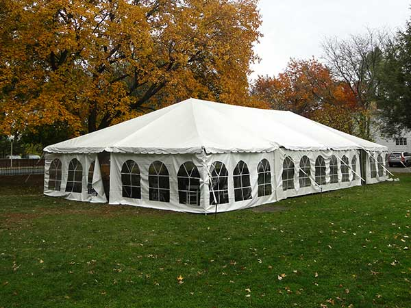 Frame Tents are available from Columbia Tent Rental for your wedding