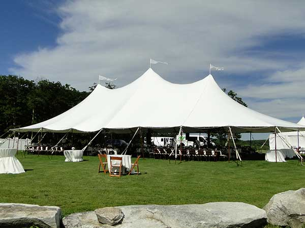 Sail Tents are available from Columbia Tent Rentals for your fundraiser