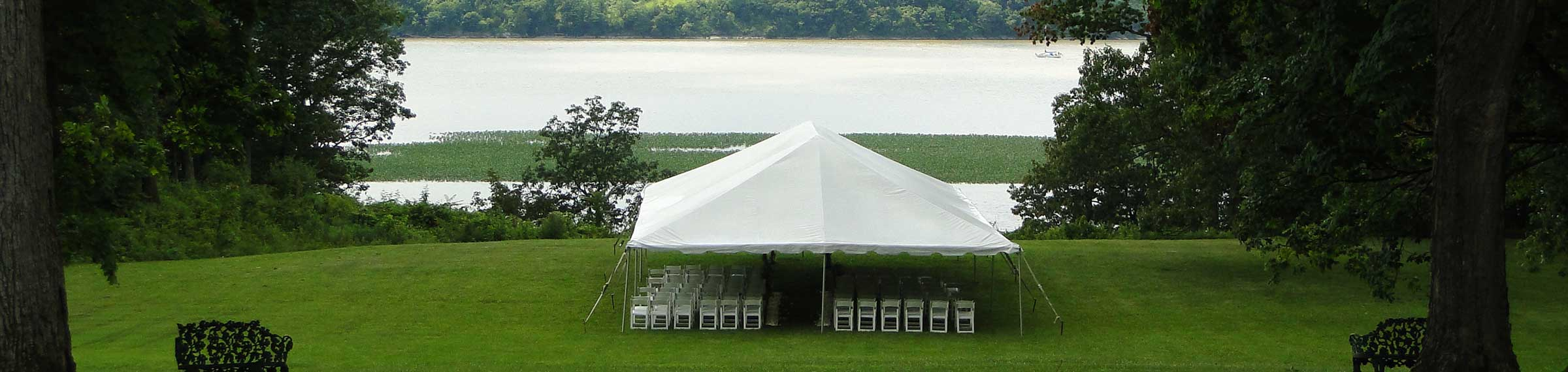 Rent your tent for your wedding from Columbia tent rentals located in Columbia county ny