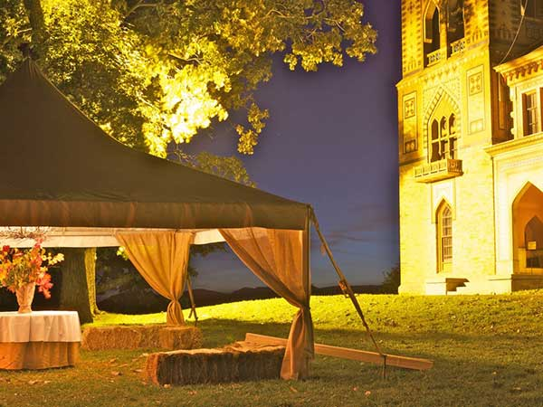 High Peak Frame Tents are available from Columbia Tent Rental for your organization