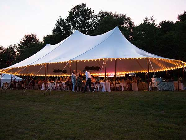 Sail Tents are available from Columbia Tent Rental for your special event