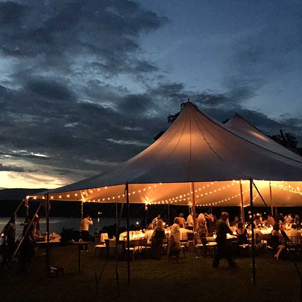 Up lighting is just one of the many options found in Columbia Tent Rentals Event Lighting Rental options