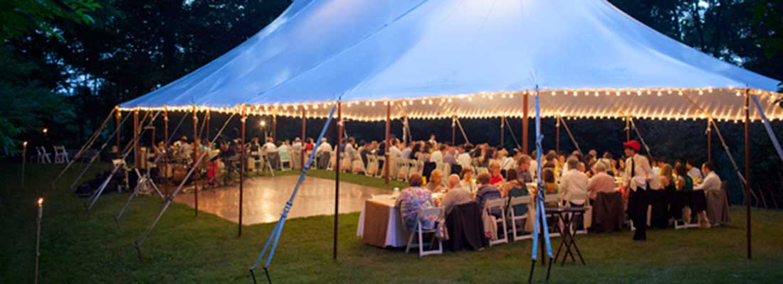Event Lighting Rental | Weddings & Events | Columbia Tent