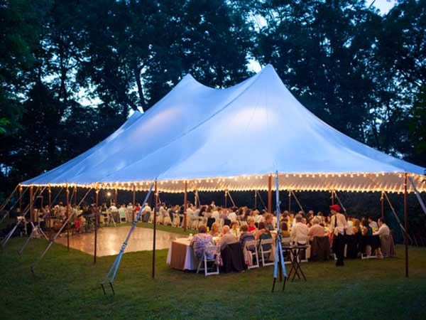 Sail Tents are available from Columbia Tent Rental for your wedding & Tent Rental | Weddings | Special Events | Columbia County NY