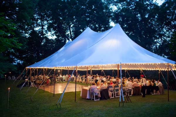 Columbia Tent Rentals rents tent for all occasions